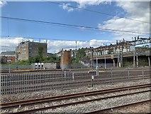 TQ2282 : Railway near Willesden Junction by Andrew Abbott