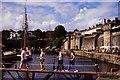 SX0351 : Charlestown Harbour bridge by Oliver Mills