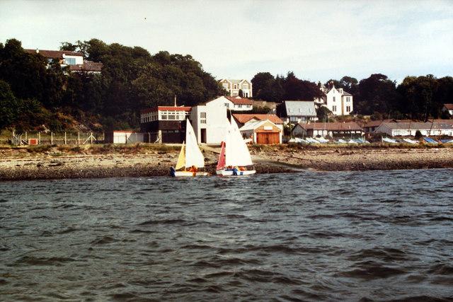 Teaching Sailing at Grassy Beach