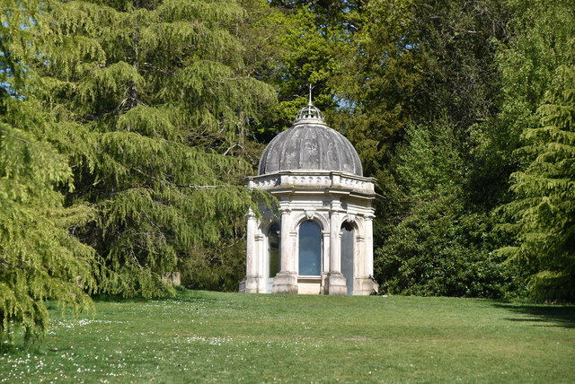 Grecian Temple, Dunorlan Park by N Chadwick