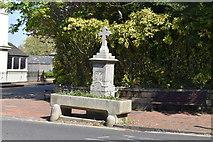 TQ5839 : Fountain and trough by N Chadwick