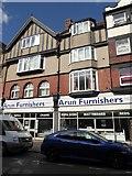 TQ0202 : Arun Furnishers, Beach Road by Basher Eyre