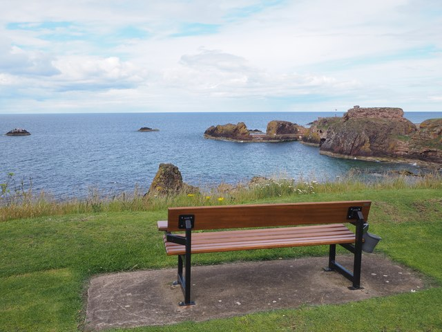A Seat with a View at the Glebe Dunbar