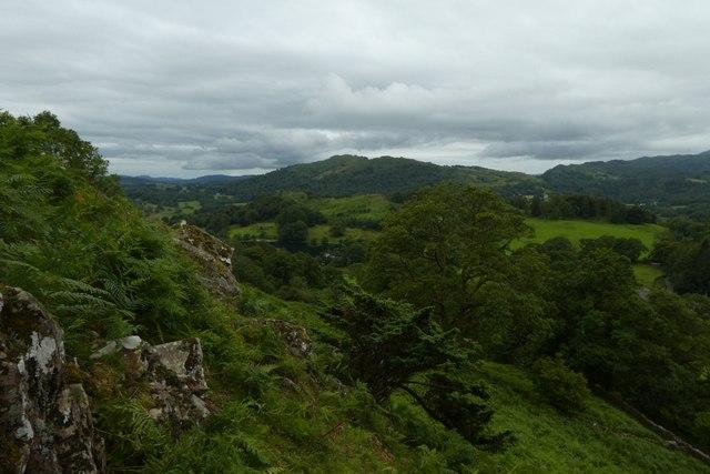 Towards Loughrigg Tarn