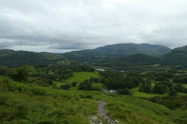 Path down Loughrigg