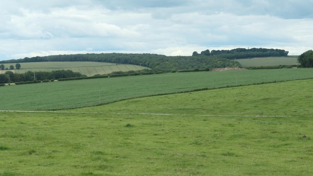 Londesborough Wold farmland