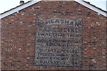 TQ5840 : Advert on house, Stephen's Rd by N Chadwick