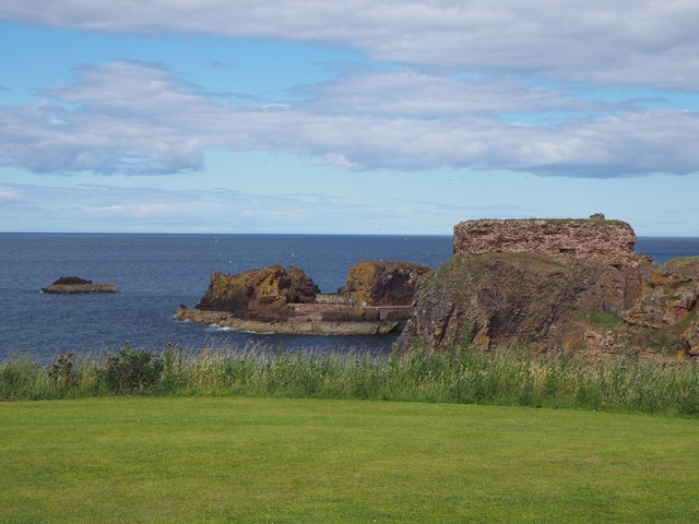 A View from the Glebe in  Dunbar