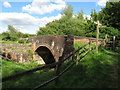 SU0797 : Canal bridge near South Cerney by Malc McDonald