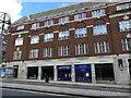 SE3033 : Shops on the north side of Eastgate, Leeds by Stephen Craven