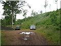 NT5667 : Car park for Danskine Loch by M J Richardson