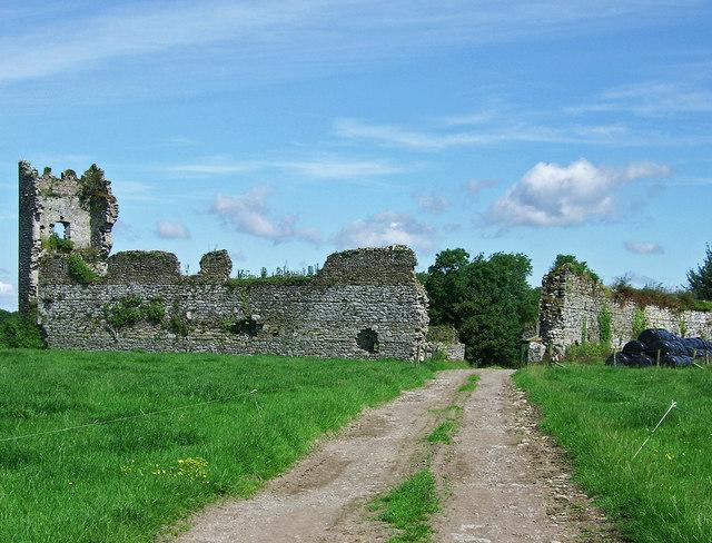 Castles of Munster: Shanpallas, Limerick (1)