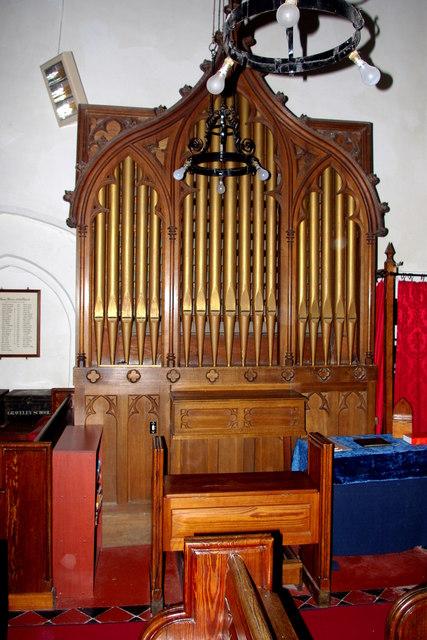 Organ in St Botolph's Church