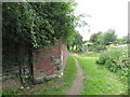 SU0399 : Remains of a railway bridge, Siddington by Malc McDonald