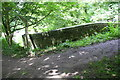 SD9926 : Mayroyd Bridge taking footpath over Rochdale Canal by Roger Templeman