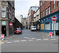 ST3188 : Mystery of the four No Entry signs, Market Street, Newport by Jaggery
