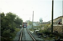 SK3455 : Road-rail bus at Crich, 1980 – 4 by Alan Murray-Rust