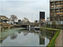 TQ3882 : Limehouse Cut by Robin Webster
