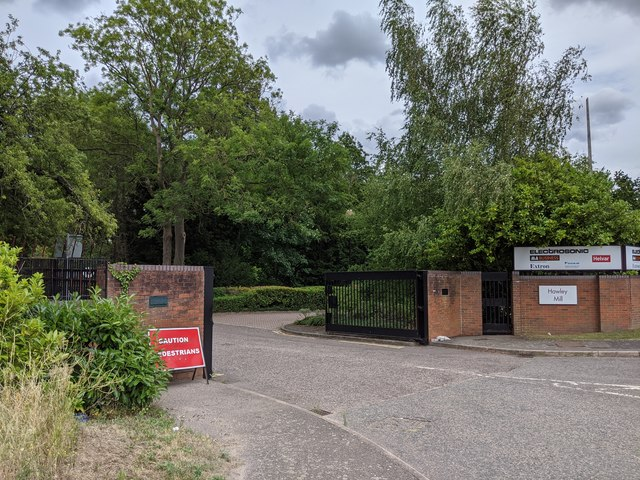 Entrance to Hawley Mill (commercial/industrial estate)
