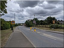 TQ5571 : Hawley Road (A225) - entering Hawley village by Paul Williams