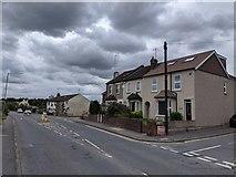 TQ5571 : Houses on Hawley Road (A225), Hawley by Paul Williams