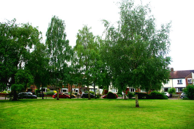 The green in Silverwood Close