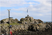 NW9954 : Flying the Flag, Portpatrick by Billy McCrorie
