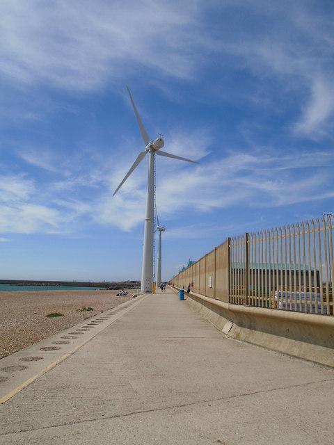Wind Turbine at Shoreham