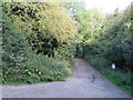 SU0795 : Track near Cerney Wick by Malc McDonald