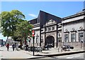 NJ9306 : Walking past the Art Gallery, Aberdeen by Bill Harrison