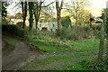 SX7884 : Track junction, Moor Barton by Derek Harper