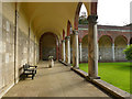 SE2638 : The Columbarium at Lawnswood - cloister by Stephen Craven