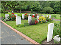 SE2638 : Commonwealth War Graves at Lawnswood cemetery by Stephen Craven