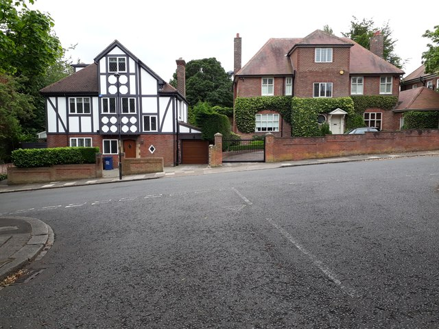 Houses, Lindisfarne Road, Jesmond, Newcastle upon Tyne