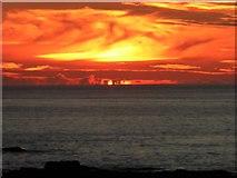 SW3526 : Sennen sunset by Rod Allday