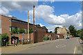TL4659 : Chesterton: a stench pipe on Church Street by John Sutton