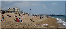 TQ2804 : Hove : beach by Julian Osley