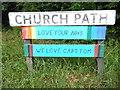SP8700 : Church Path nameplate by David Hillas