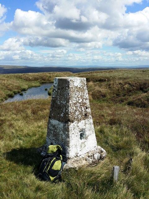 Ordnance Survey Trig Pillar on Whins Brow