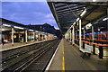 SU9949 : Platforms 2 & 3, Guildford Station by N Chadwick