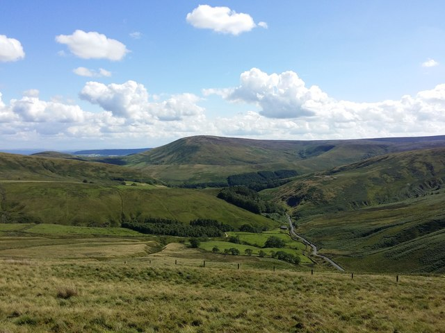 View from Winfold Fell, Trough of Bowland