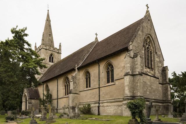 St Helen's church, Grove