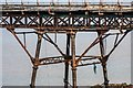 ST3062 : Detail of Birnbeck Pier: Typical trestle and girders by Oliver Mills
