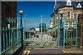 ST4071 : Entrance gates at Clevedon Pier by Oliver Mills