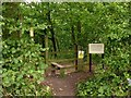 SK6354 : Welcome to Combs Wood by Alan Murray-Rust