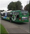 ST3486 : Thank You NHS on a bus in Newport Retail Park by Jaggery