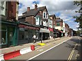 SX9292 : Experimental traffic control measures, Magdalen Road, Exeter by David Smith