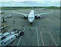 SJ8284 : Ryanair pit-stop at Manchester Airport (photo 1 of 7) by Thomas Nugent