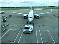 SJ8284 : Ryanair pit-stop at Manchester Airport (photo 2 of 7) by Thomas Nugent