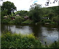 SO7777 : River Severn at Northwood Halt by Mat Fascione